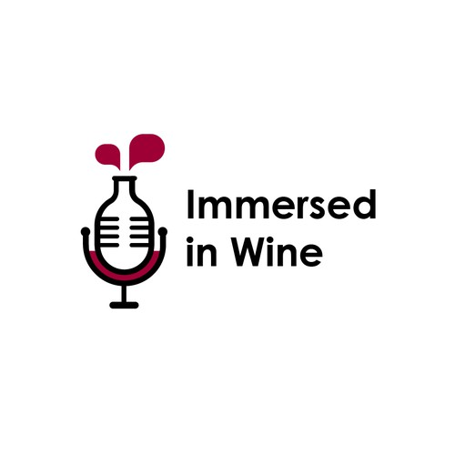 Immersed in Wine Logo