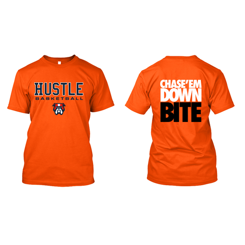 Hustle Basketball - Tshirt Design