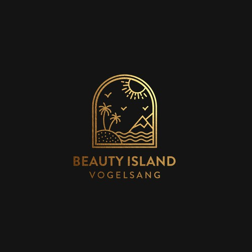 Logo design for Beauty Island Vogelsang