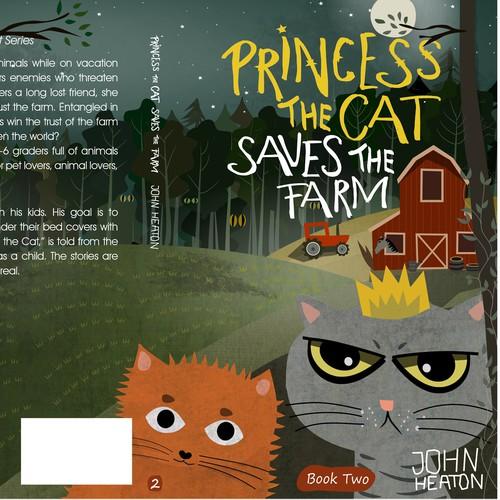 Princess The Cat / Book cover Serie 2