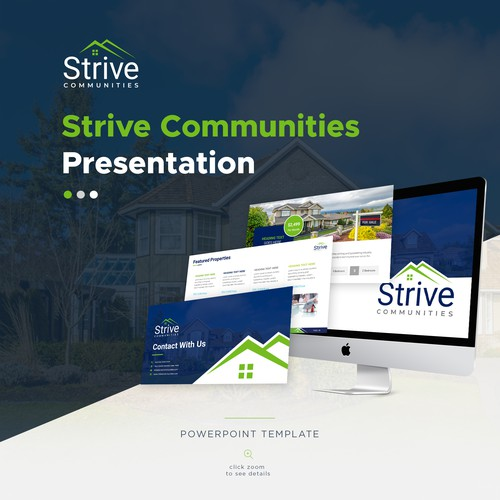 Strive Communities Power-Point Template