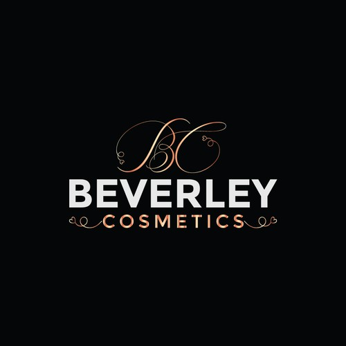 Logo concept for beverley cosmetics.