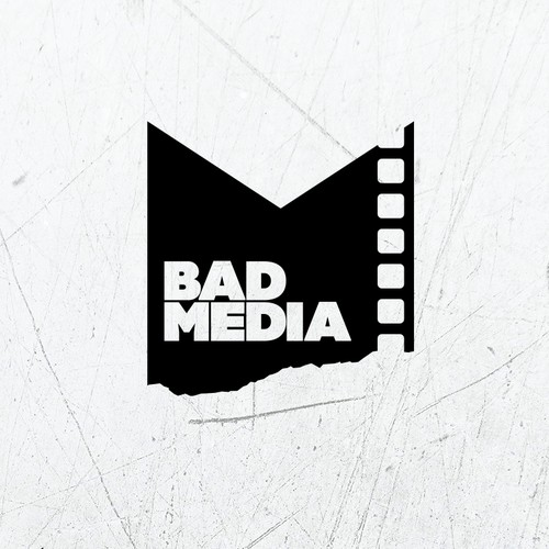 Bad Media logo concept