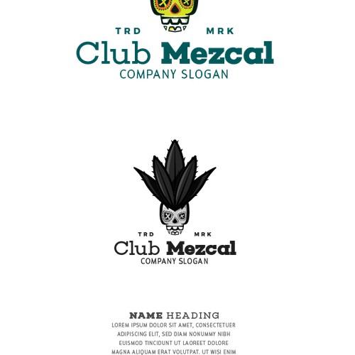Logo for an online Mezcal shop