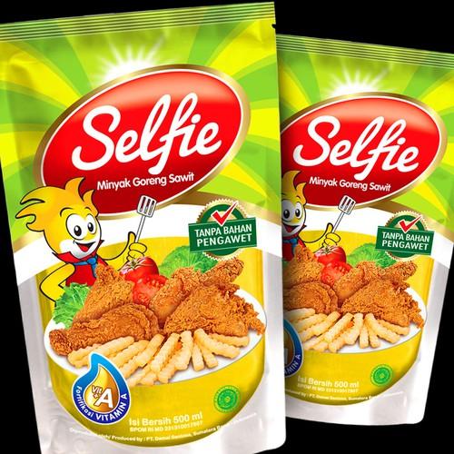 Minyak Goreng Sawit merk Selfie