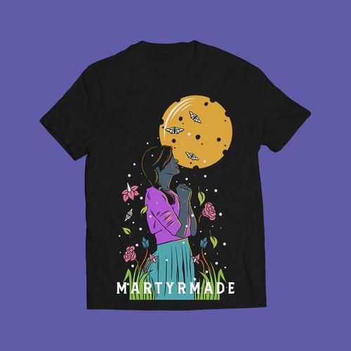 martyrmade tshirt design