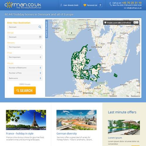 Responsive website design for Cofman