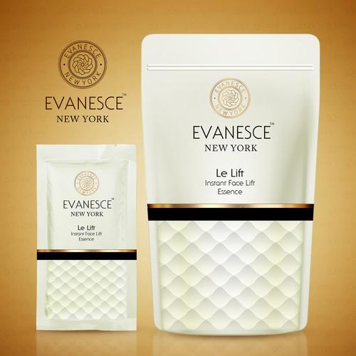 EVANESCE Pouch & Sachet Label