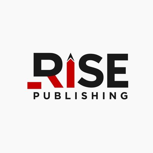 logo for Rise publishing