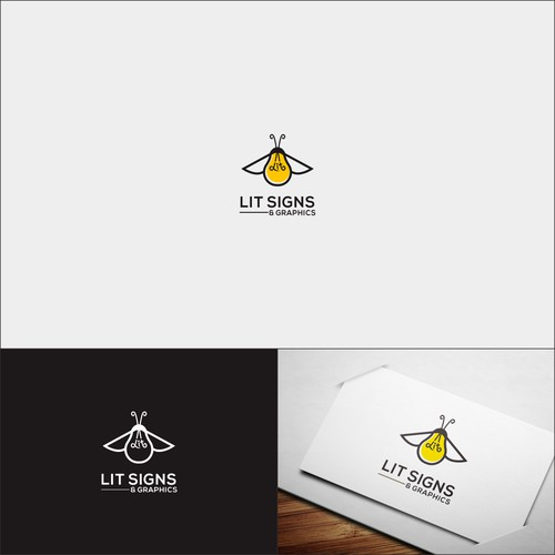 Bold Logo For Lit Signs