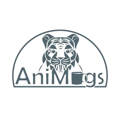 Logo design for animal mugs