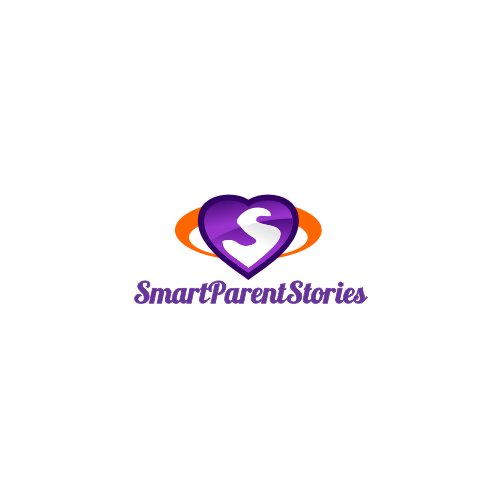 Cool, chic, soft logo for smart parents who learn and grow and hassle