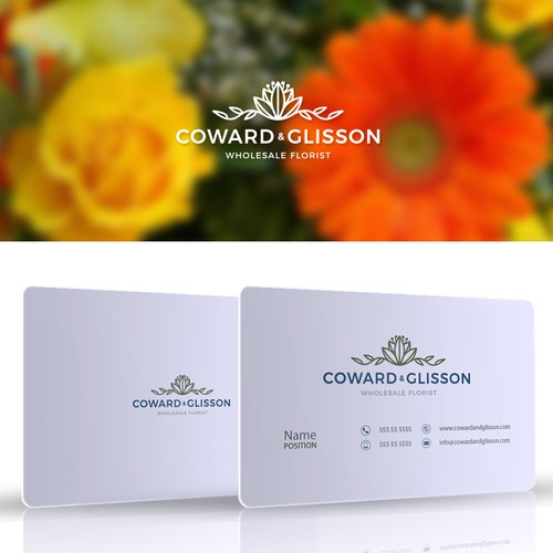 Wholesale florist needs updated logo: looking for something simple, professional, and clean with floral detail