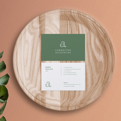 Stationery for CONNECTED ACCOUNTING firm.
