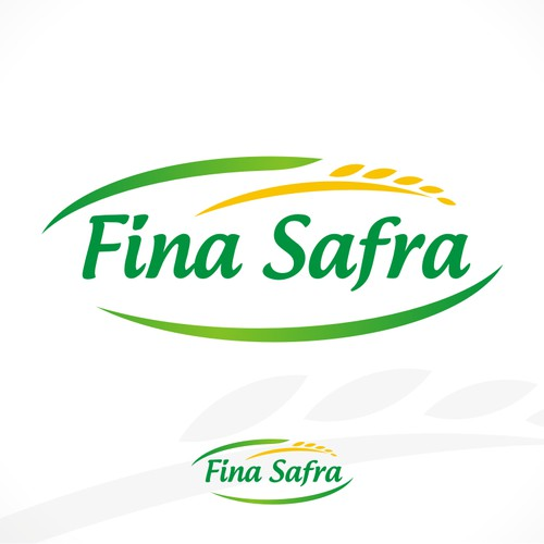 "Create logo for a new rice ""FINA SAFRA""."