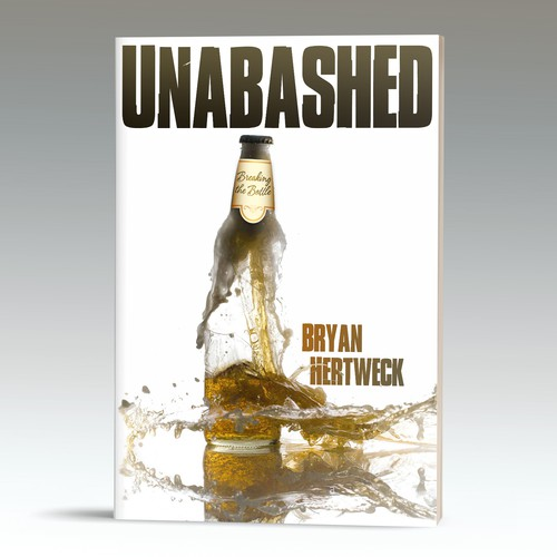 Bold cover for book on recovering from alcoholism