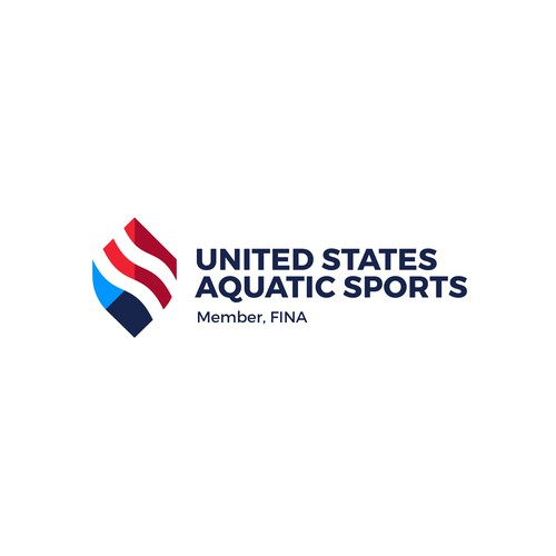 United States Aquatic Sports Logo