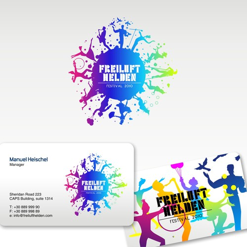 Logo For Freiluft Helden Festival 2010