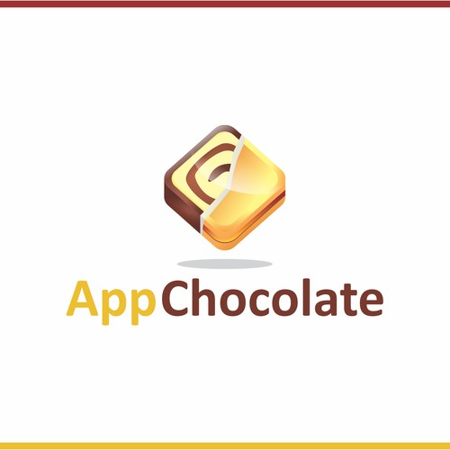 AppChocolate: create a logo and a brand identity for the new entertainment mobile app publisher