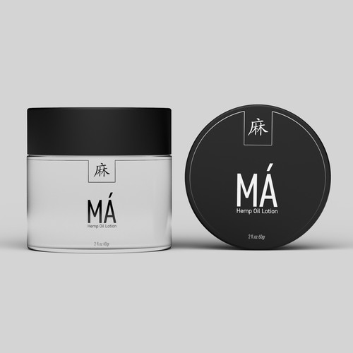 Clean label design for MÁ Hemp Oil Lotion