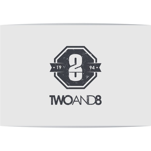 Design a new logo / symbol for TwoAnd8 backpacks