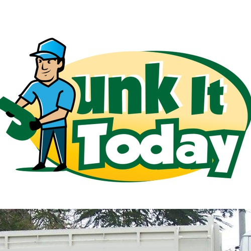 bold logo for junk removal company