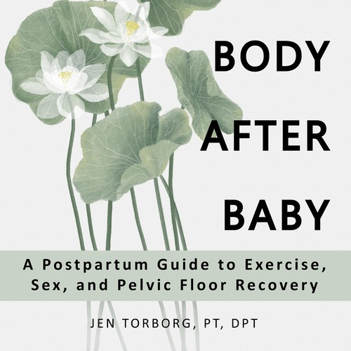 """Book cover - """"Your Best Body After Baby"""""""