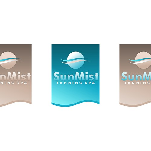 Help Sun Myst Tanning Spa with a new logo