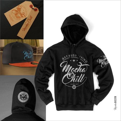 mocha chill hoodie