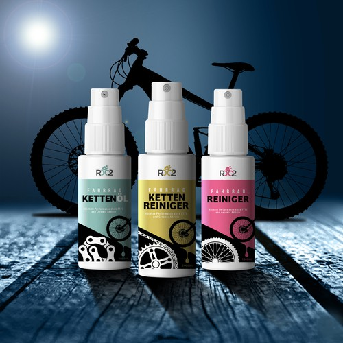 Fahrradöl mal anders - so dass man es ja nicht übersieht.