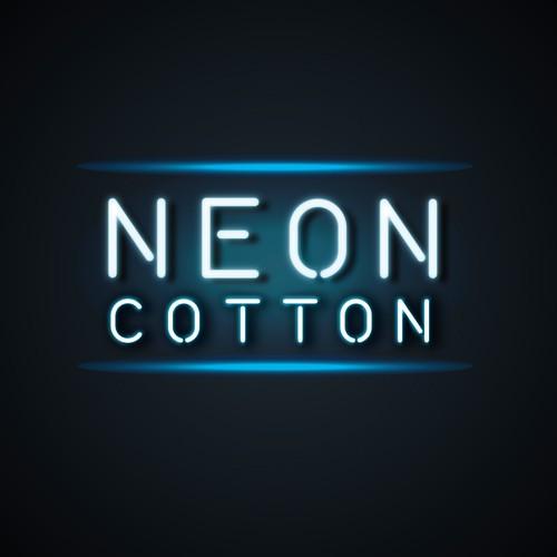 Neon Cotton logo design