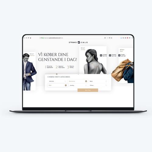 Luxury online market