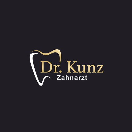 Logo with a creative and luxury way for Dr.Kunz