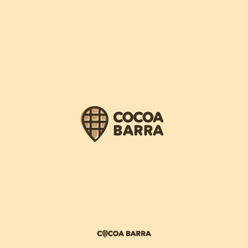 Travel and chocolate logo