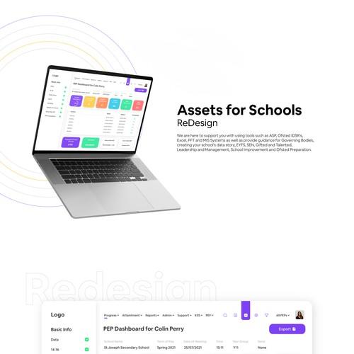 Web app for student progress tracking.