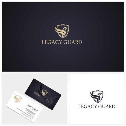Sophisticated logo design
