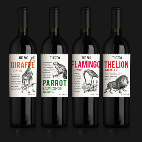 Wine labels - ZOO winery