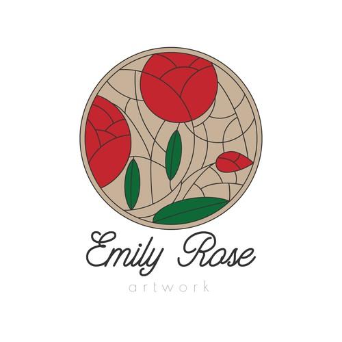 Vitrage style logo design