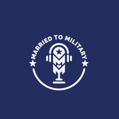 podcast logo - Married to Military