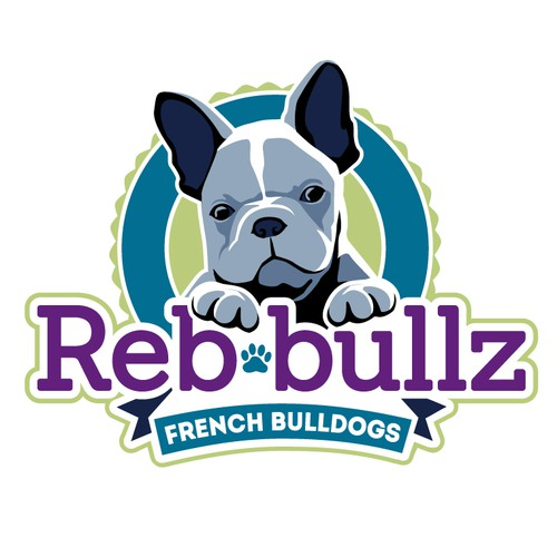 Logo Design for French Bulldog Breeder