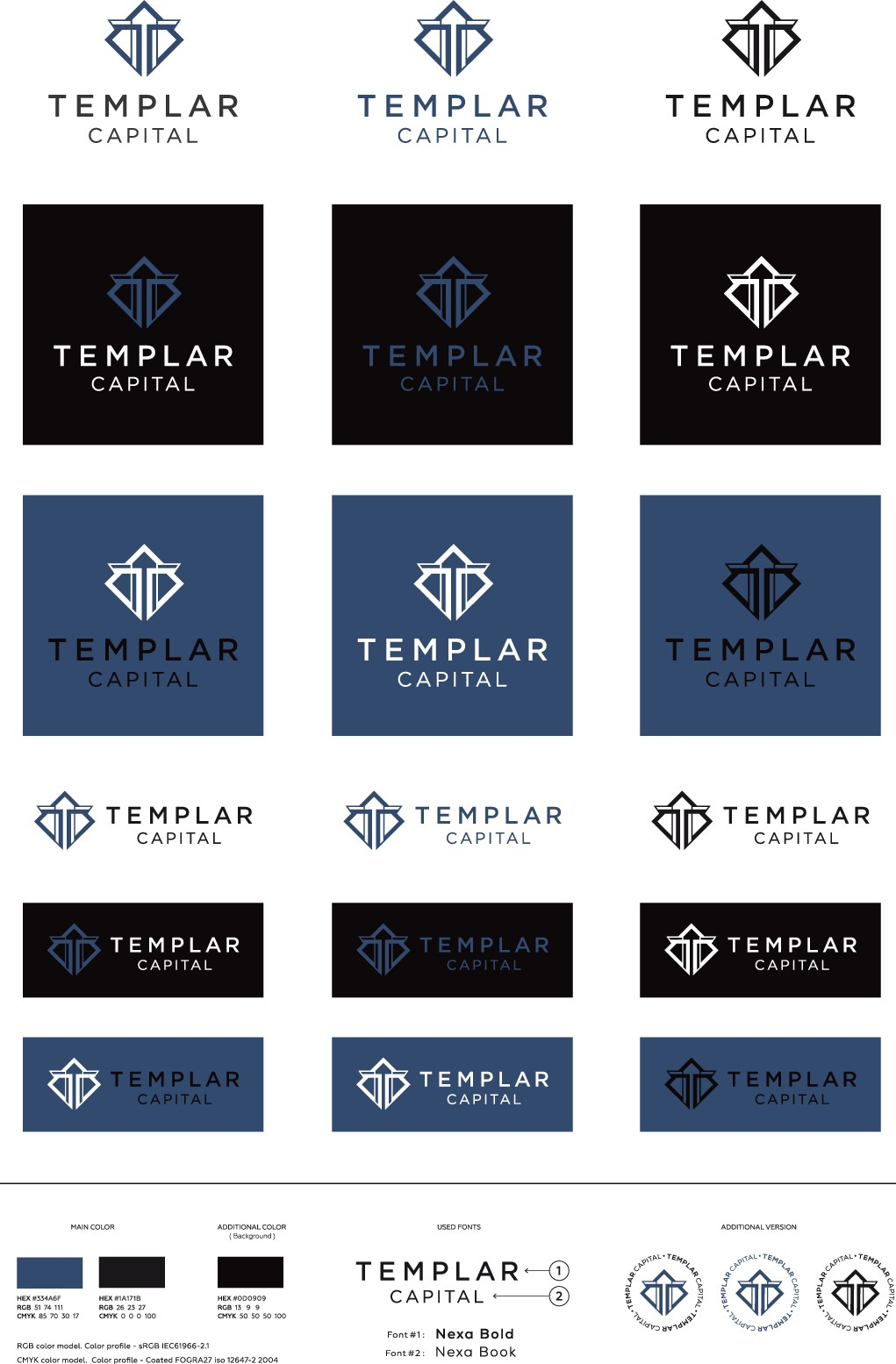 Help design a Solid Clean Logo in the Financial Sector with a Medieval theme.