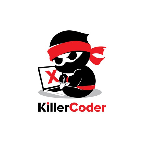 Unique Logo for Coder or web developer