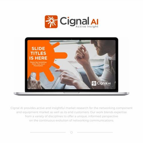 Cignal AI PowerPoint Template