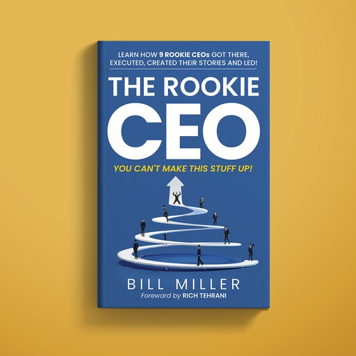 THE ROOKIE CEO Book Cover Design