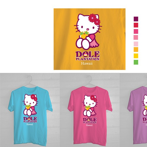 kitty t shirt design