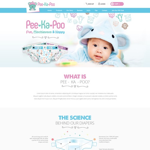Diaper website