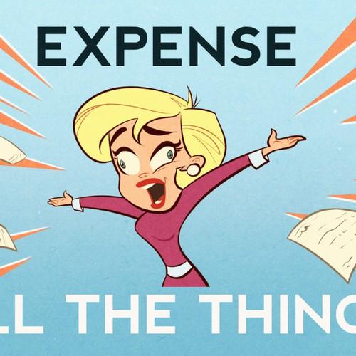 Life of an Entrepreneur Cartoon - Expense