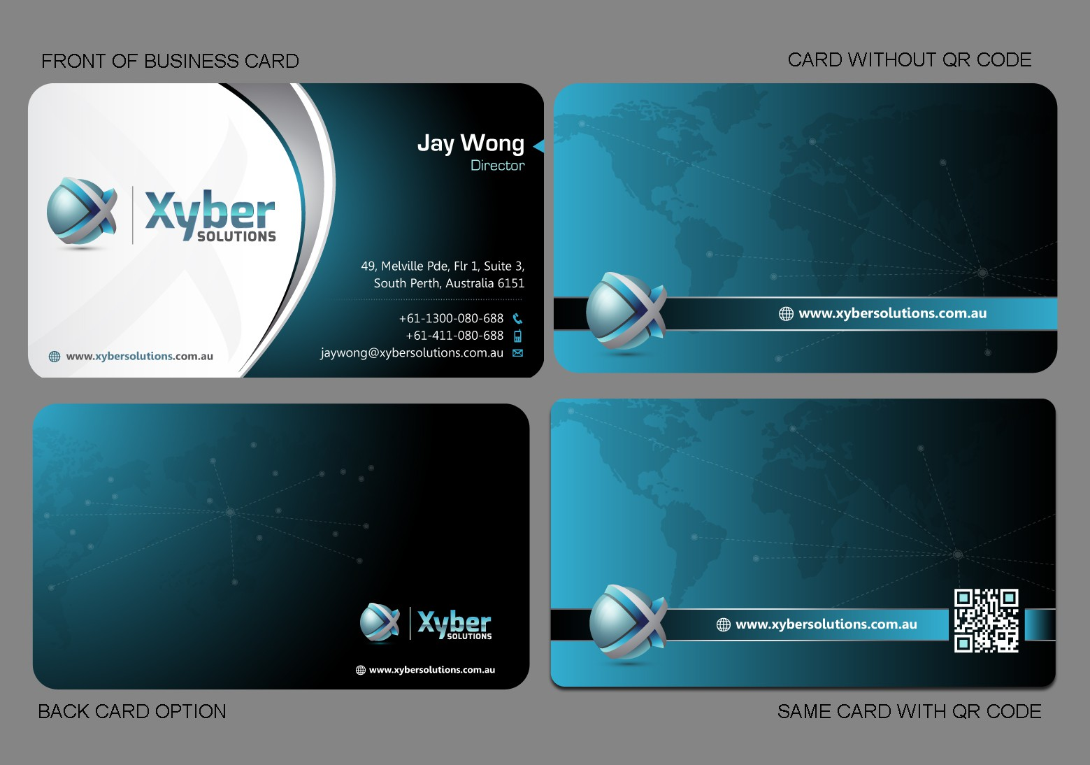 *GUARANTEED* Biz Card Design for Xyber Solutions!! - Come Join in!!