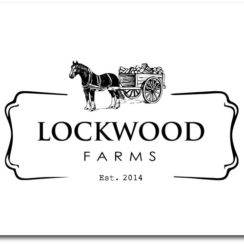 Re-design a traditional farming logo
