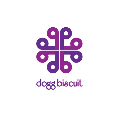 Logo for designer dog cushions